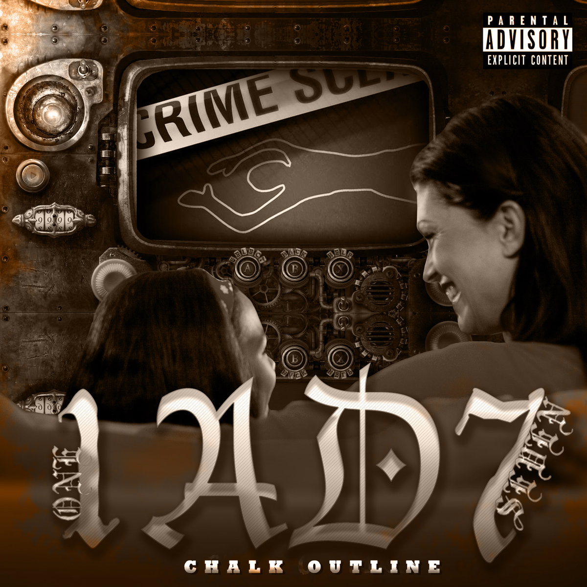 Lyrics video of the song: chalk outline three days grace (lyrics.